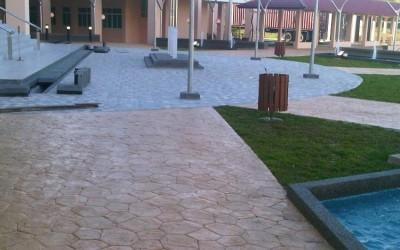Concrete Imprint Concourse