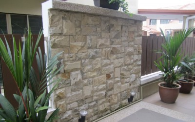 CraftStone Garden Wall