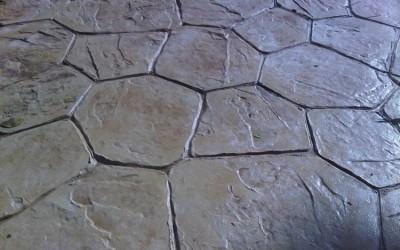 Imprint Concrete Random Stone