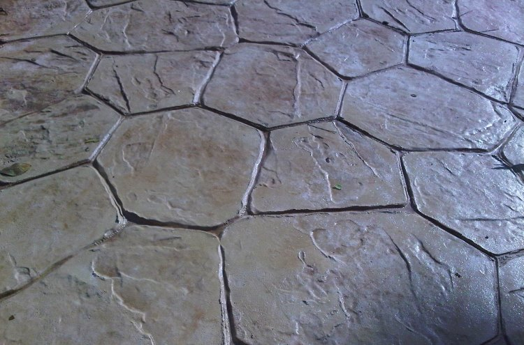 Concrete Imprint Gallery Syarikat Saga