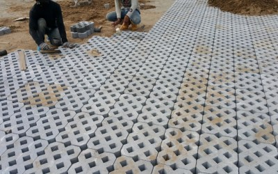 Installing Interlocking Paving