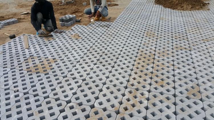 interlocking concrete pavement   syarikat saga
